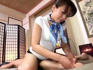 Massage Intimate Massage Of Asian Cutie Caught Chiefly Camera