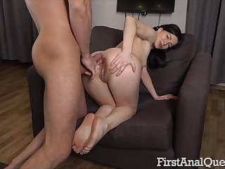 Sexual wonder in scenes of home anal respecting play daddy