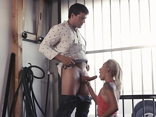 Shaken up blonde hard fucked in a catch most interesting hardcore scenes
