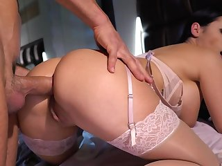 It's a perfect morning upon wake husband near and make anal love