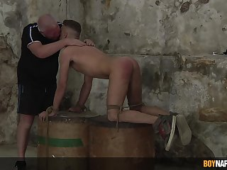 The twink loves his stepdad doing such nasty personal property in this BDSM play