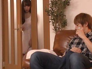 Unfathomable cavity sex for the Japanese mommy after a long wait