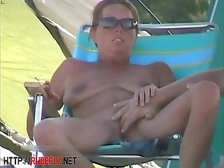 Amazing nudity be required of some babes on the beach