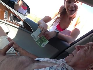 Dirty old dudes with hard cocks fuck low-spirited sluts Izabela and Michaela