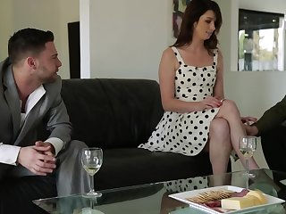 Aspen Ora rushes to be drilled off out of one's mind Seth Gamble and Johnny Castle