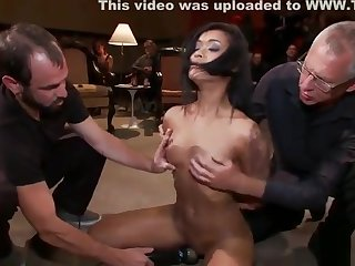 Teenage in sexual congress action