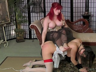 Dropped submission plus head start sex games with misapplied nympho Mistress Irony